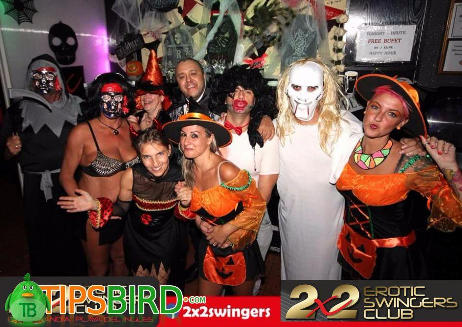 Swinger halloween parties